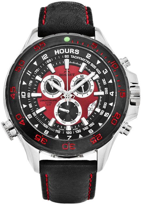 Bisset BSCC03TIRB05AX - zegarek męski
