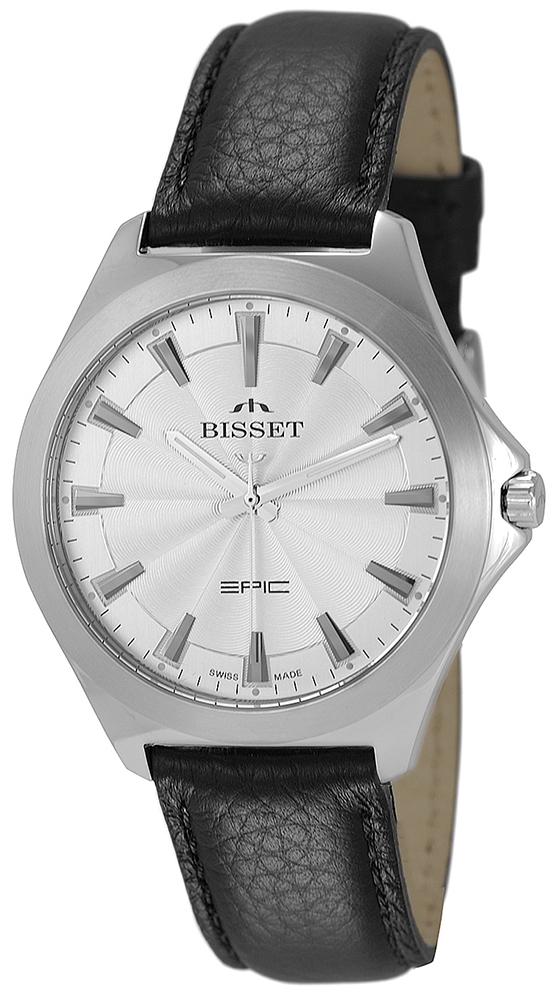 Bisset BSCE40SISX03BX - zegarek męski