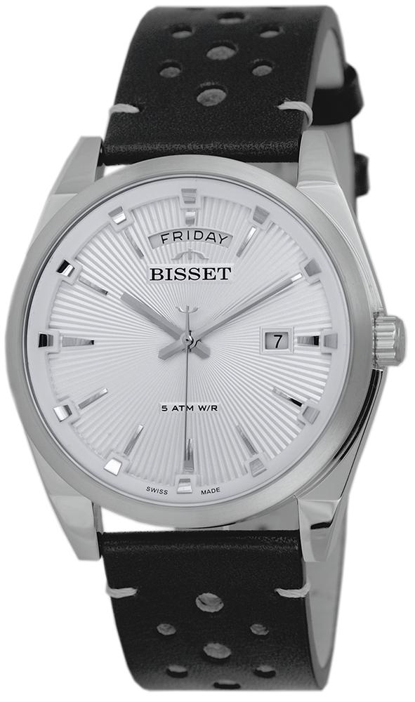 Bisset BSCE63SISW05AX - zegarek męski