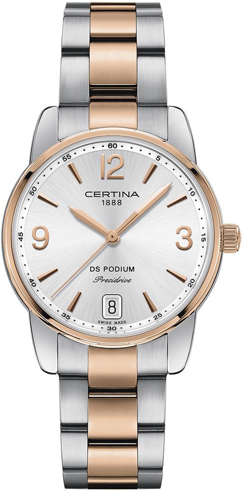 Certina C034.210.22.037.00 - zegarek damski