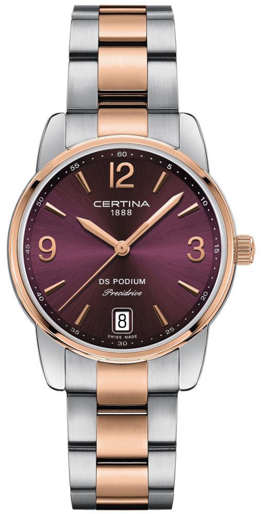 Certina C034.210.22.427.00 - zegarek damski