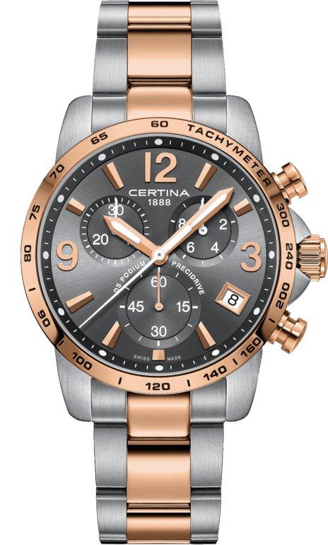 Certina C034.417.22.087.00 - zegarek męski