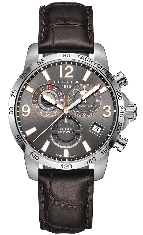 Certina C034.654.16.087.01 - zegarek męski