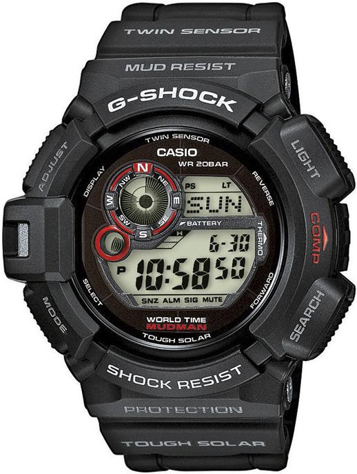 Casio G-SHOCK G-9300-1ER - zegarek męski