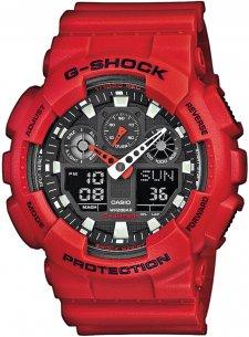 G-SHOCK GA-100B-4AER - zegarek męski