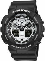Zegarek Casio G-Shock GA-100BW-1AER