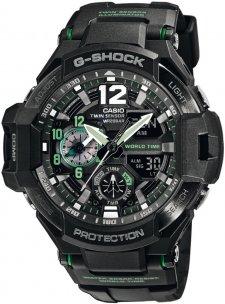 G-SHOCK GA-1100-1A3ER-POWYSTAWOWY - zegarek męski