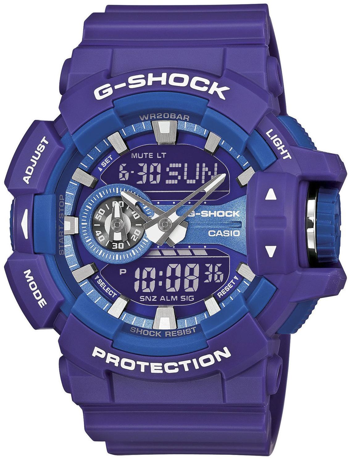 G-Shock GA-400A-6AER-POWYSTAWOWY - zegarek męski