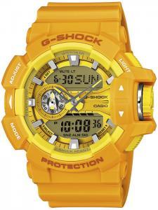 G-SHOCK GA-400A-9AER-POWYSTAWOWY - zegarek męski