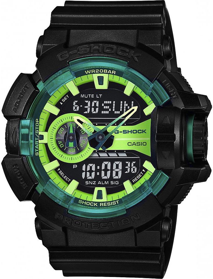 G-Shock GA-400LY-1AER-POWYSTAWOWY - zegarek męski
