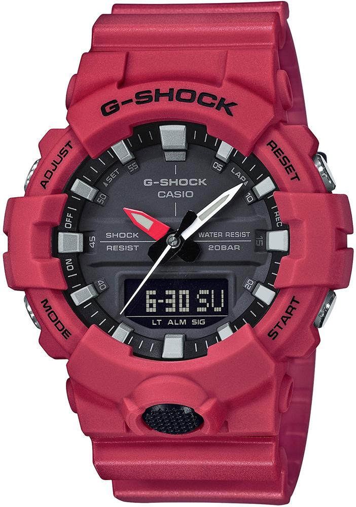 G-SHOCK GA-800-4AER - zegarek męski
