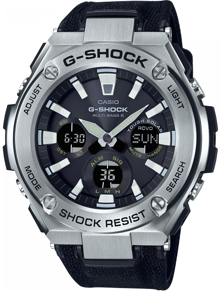 G-SHOCK GST-W130C-1AER-POWYSTAWOWY - zegarek męski
