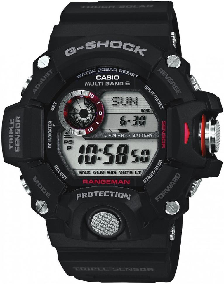 Casio G-SHOCK GW-9400-1ER - zegarek męski