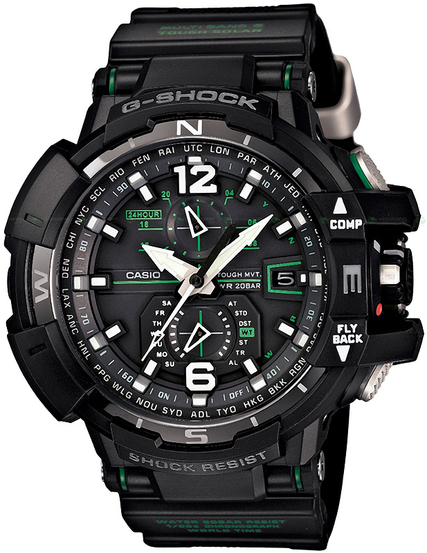 G-SHOCK GW-A1100-1A3ER - zegarek męski