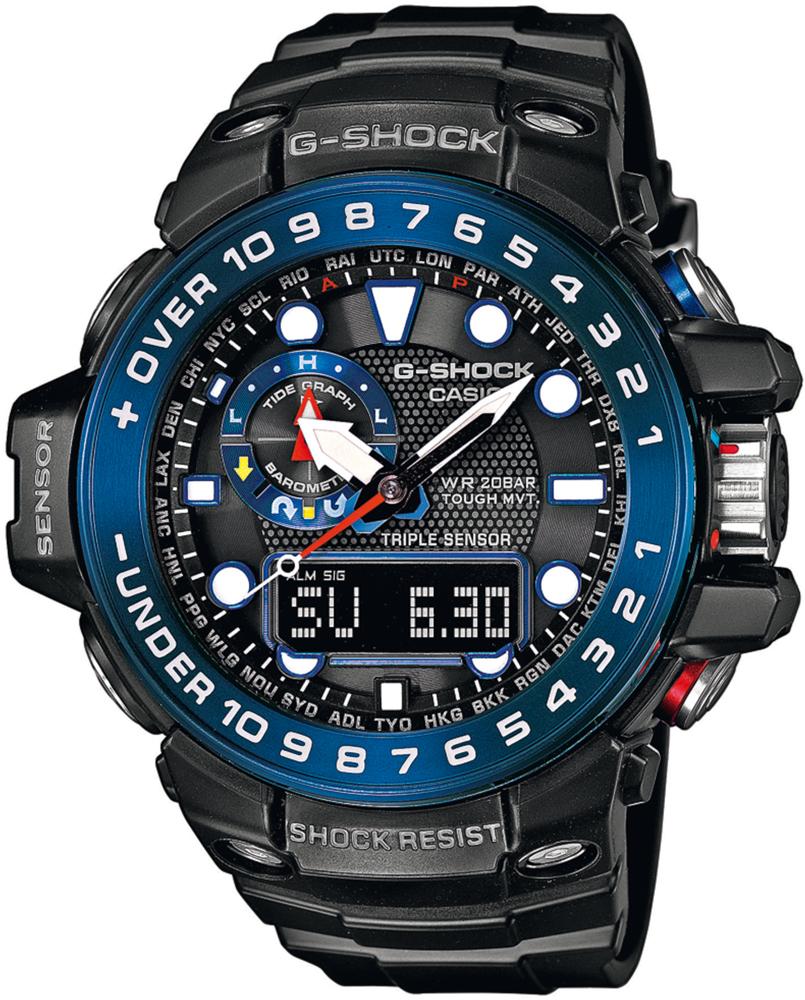 G-SHOCK GWN-1000B-1BER - zegarek męski