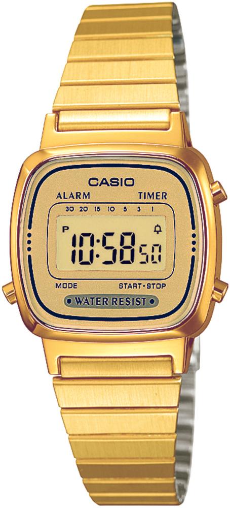 Casio LA670WEGA-9EF - zegarek damski