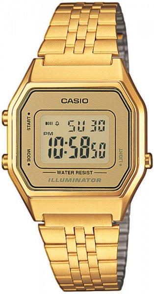 Casio LA680WEGA-9ER-POWYSTAWOWY - zegarek damski