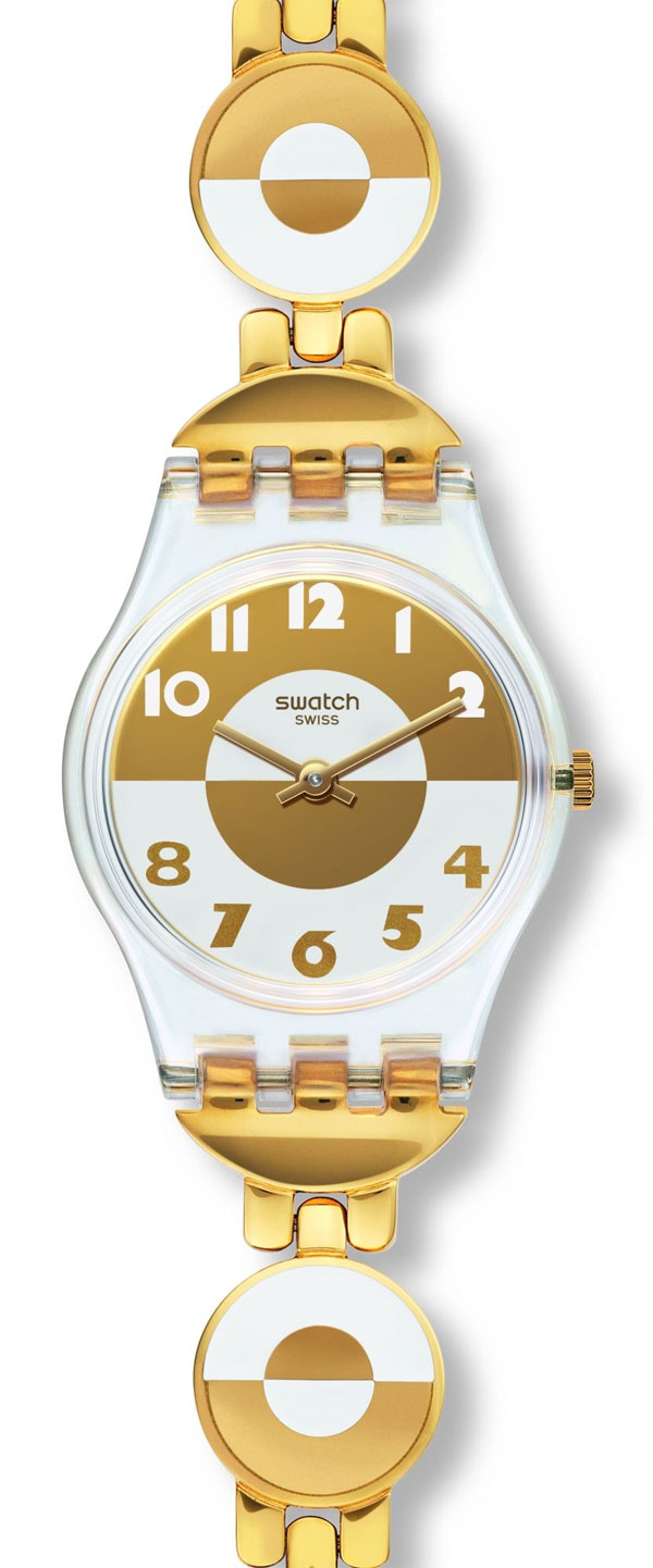 Swatch LK369G - zegarek damski