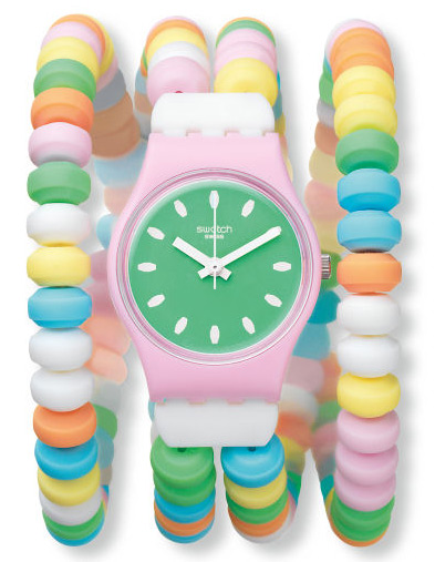 Swatch LP135B - zegarek damski