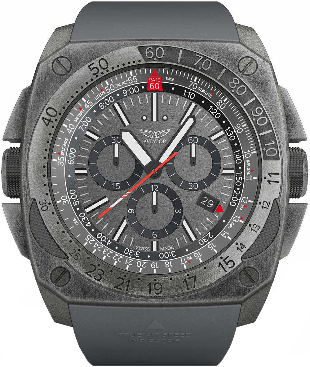 Aviator M.2.30.7.221.6 - zegarek męski