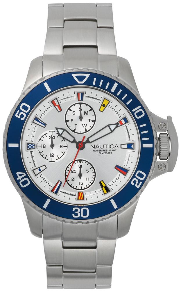 Nautica NAPBYS004 - zegarek męski