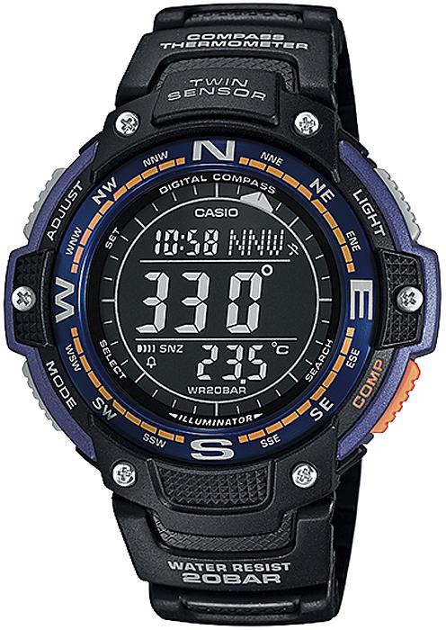 Casio SGW-100-2BER - zegarek męski