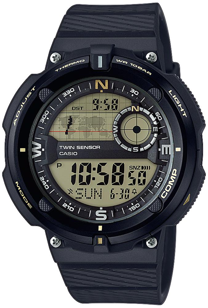 Casio SGW-600H-9AER - zegarek męski