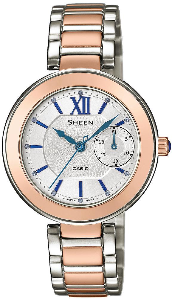 Casio Sheen SHE-3050SG-7AUER - zegarek damski
