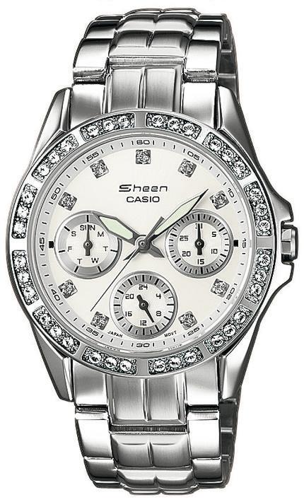 Casio Sheen SHN-3013D-7AEF - zegarek damski