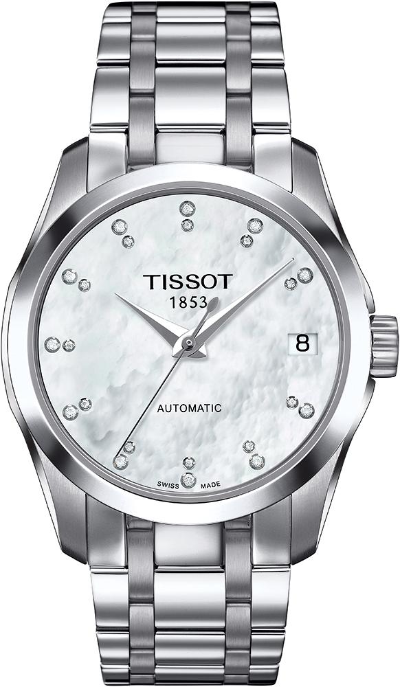 Tissot T035.207.11.116.00 - zegarek damski