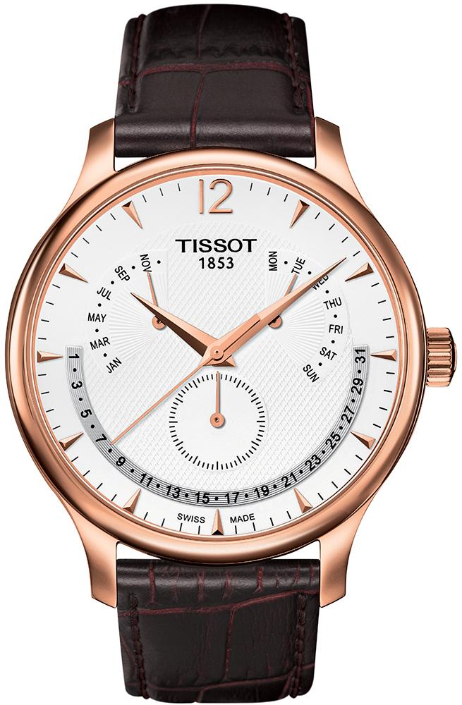 Tissot T063.637.36.037.00 - zegarek męski