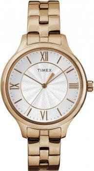 Timex TW2R28000-POWYSTAWOWY - zegarek damski