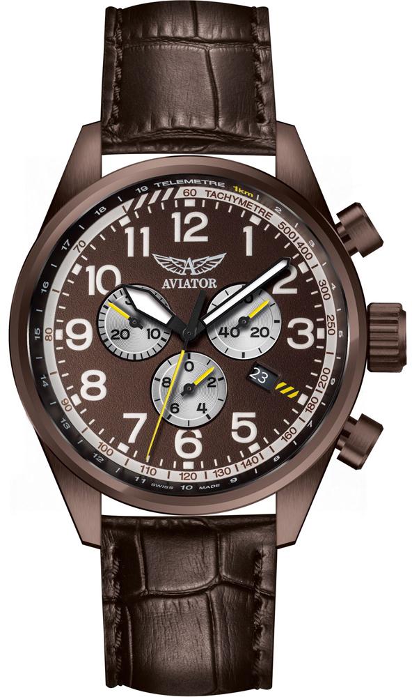 Aviator V.2.25.8.172.4 - zegarek męski