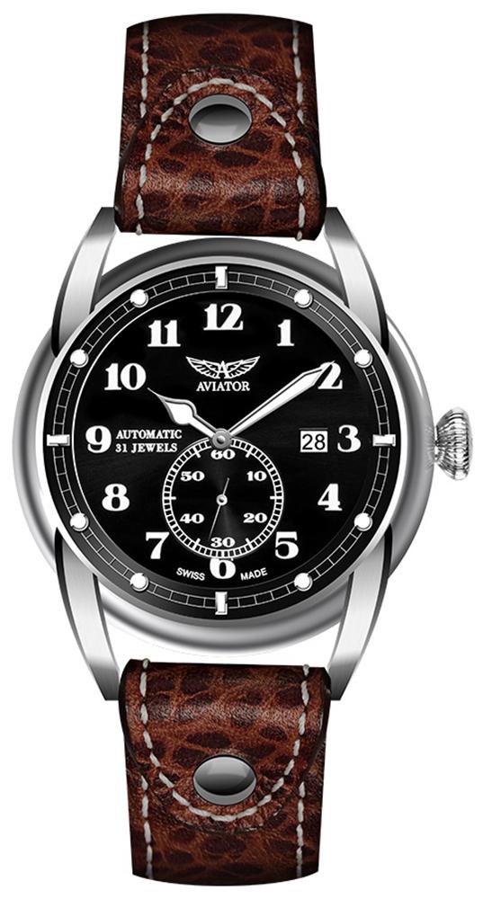 Aviator V.3.07.0.081.4 - zegarek męski