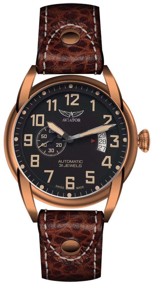 Aviator V.3.18.8.162.4 - zegarek męski