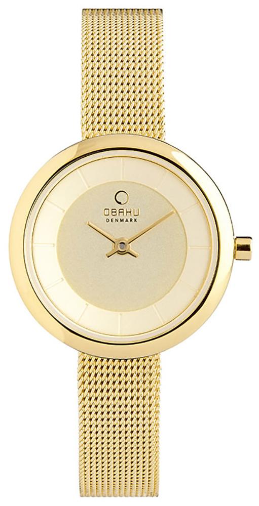 Obaku Denmark V146LGGMG - zegarek damski