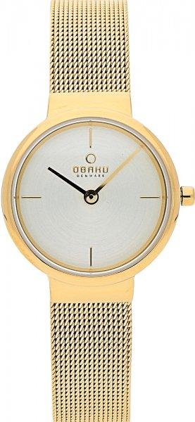 Obaku Denmark V153LGGMG - zegarek damski