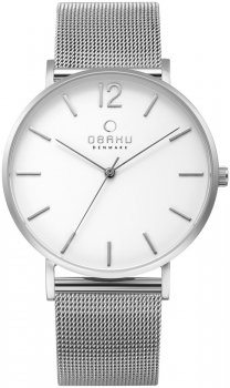 Zegarek zegarek męski Obaku Denmark V197GXCWMC1
