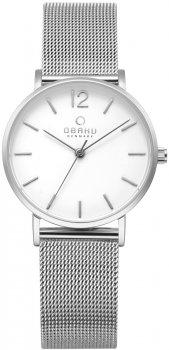 Zegarek zegarek męski Obaku Denmark V197LXCWMC1