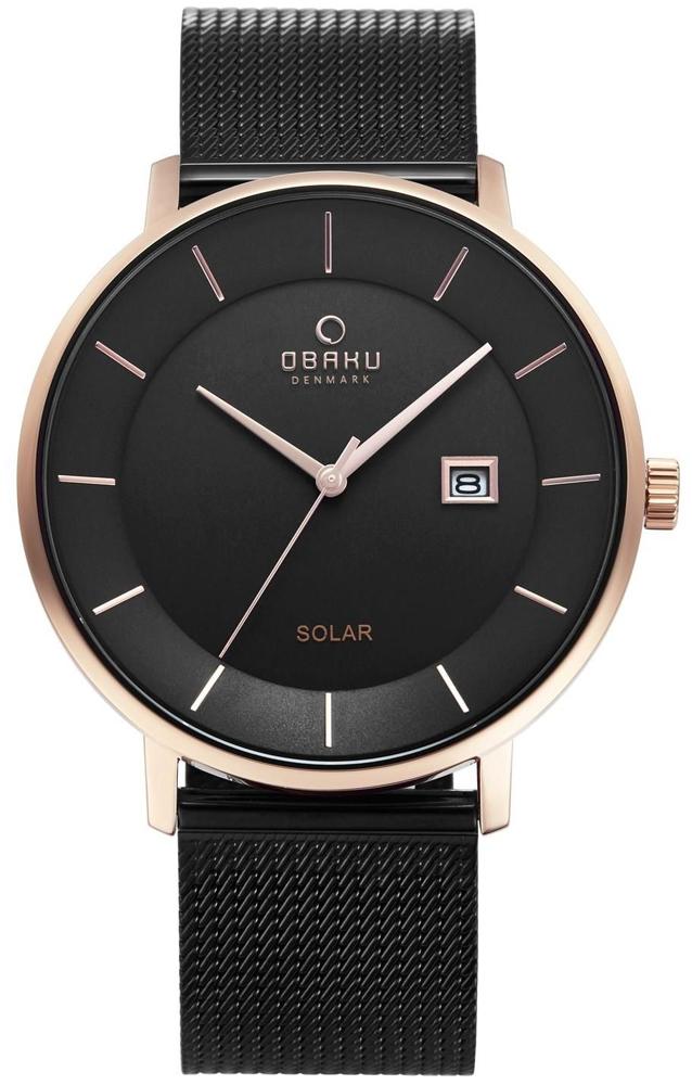 Obaku Denmark V222GRVBMB - zegarek męski