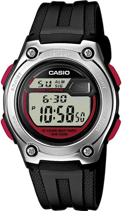 Casio W-211-1BVEF - zegarek męski