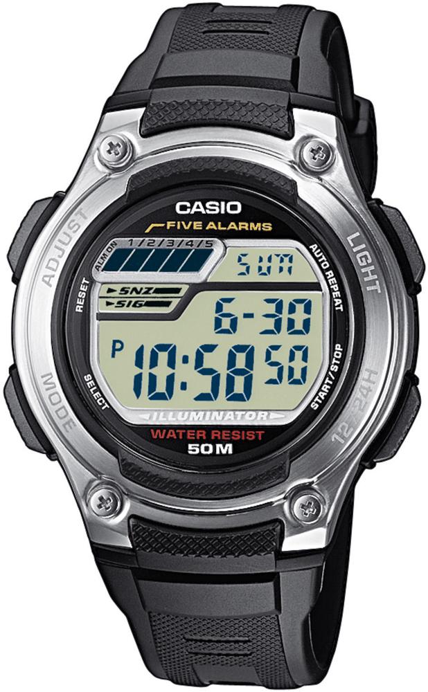 Casio W-212H-1AVEF - zegarek męski