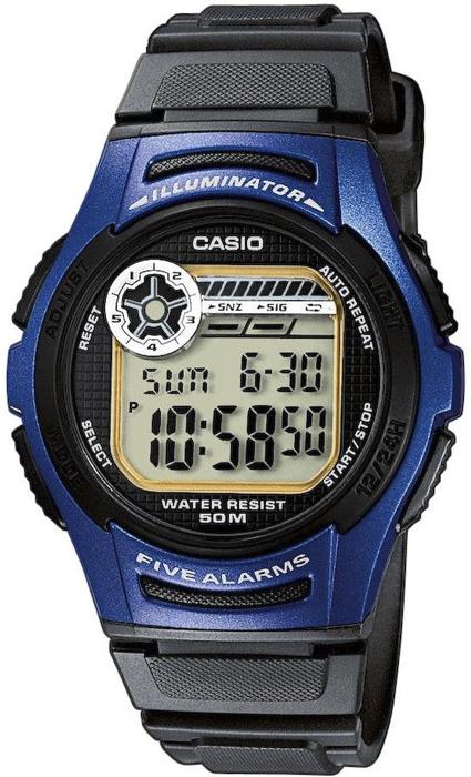Casio W-213-2AVEF - zegarek męski