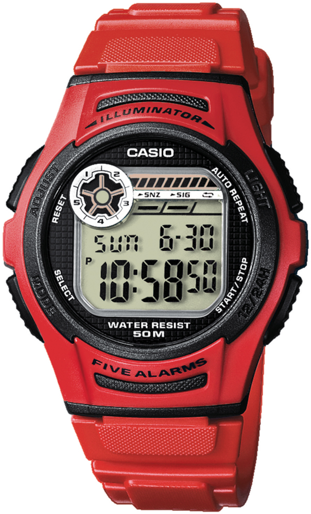 Casio W-213-4AVEF - zegarek męski
