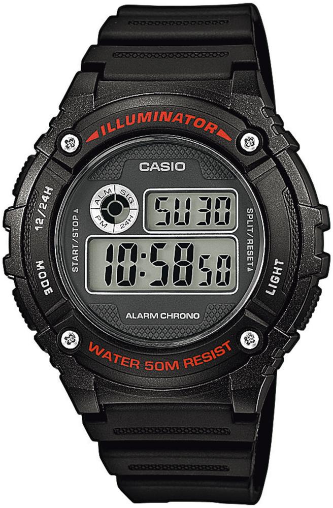 Casio W-216H-1AVEF - zegarek męski