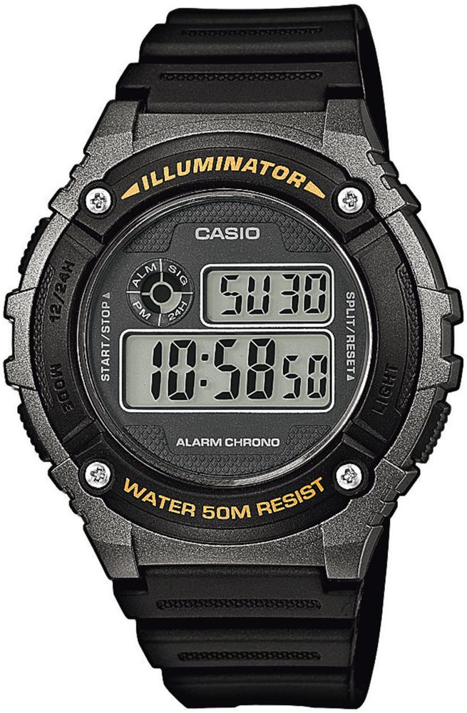 Casio W-216H-1BVEF - zegarek męski