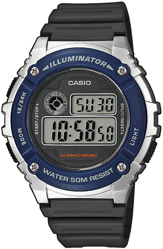 Casio W-216H-2AVEF - zegarek męski