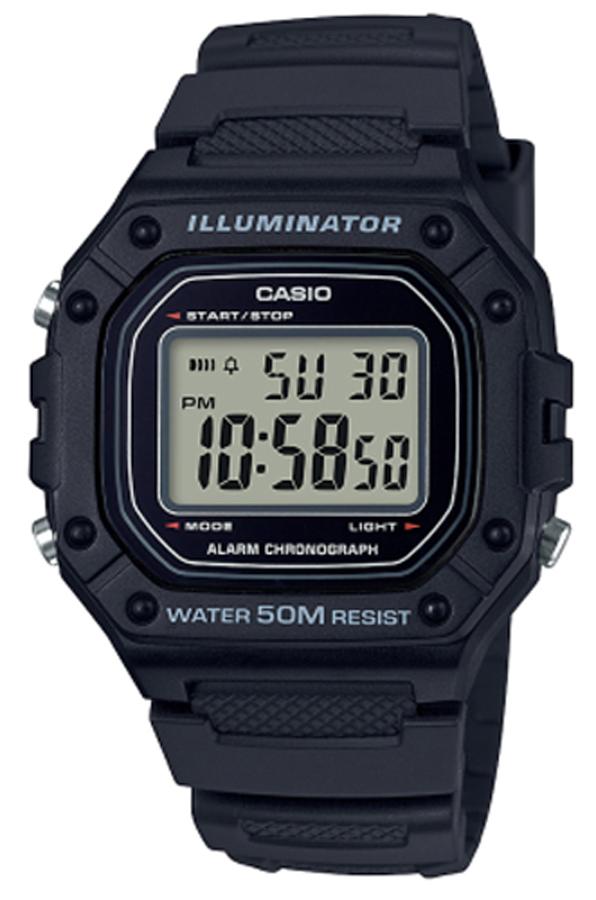 Casio W-218H-1AVEF - zegarek męski