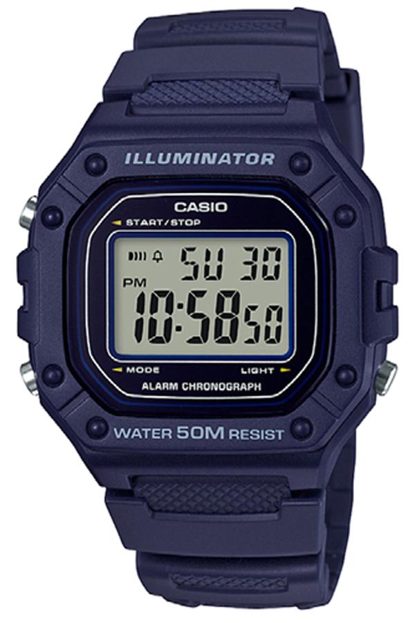 Casio W-218H-2AVEF - zegarek męski