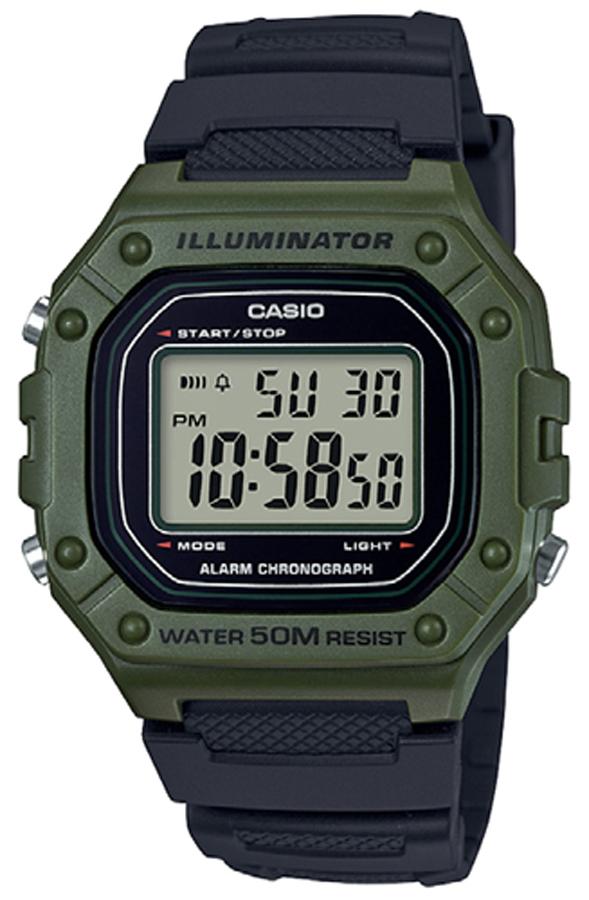 Casio W-218H-3AVEF - zegarek męski